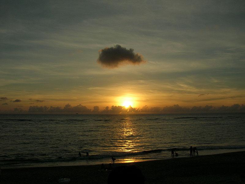 06.07大浜の夕暮れ