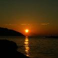 06.07鳩浜の夕焼け3