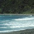06.09台風前の城海岸
