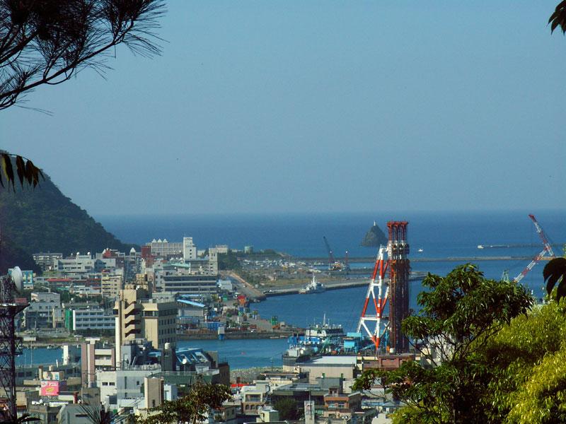 おがみ山から名瀬湾を望む1