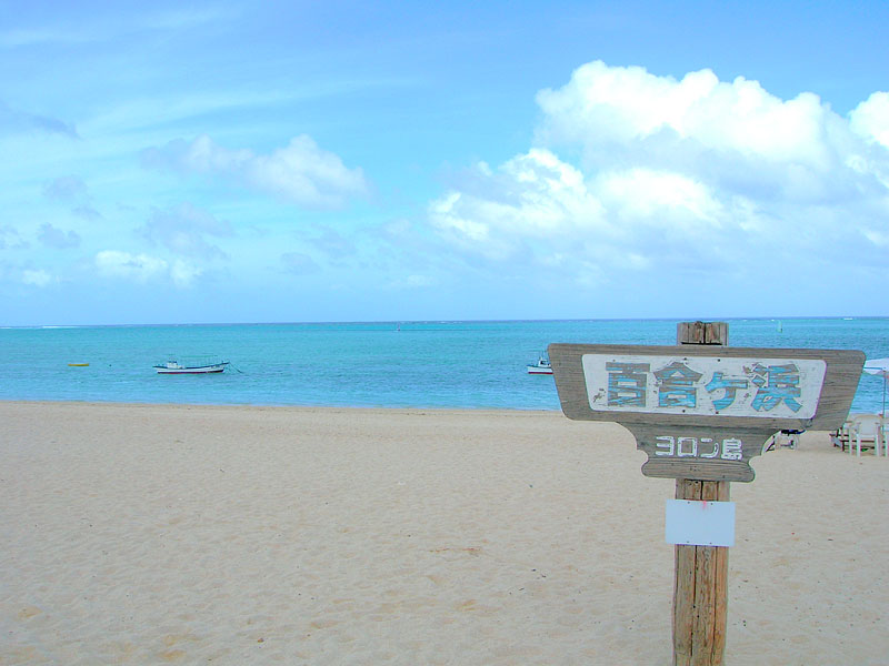百合が浜を