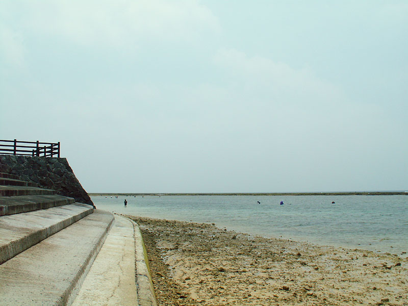 2007.5徳之島与那間ビーチ2