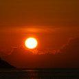 06.07鳩浜の夕焼け2