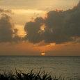与論島の夕陽2