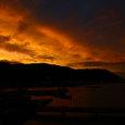 07.06梅雨明け前の夕焼け1