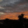 07.06梅雨明け直前の夕焼け1